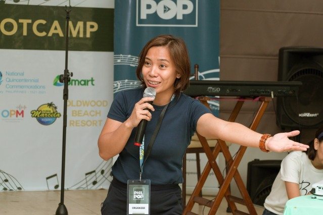 Dinah Remolacio, PhilPop Executive Director