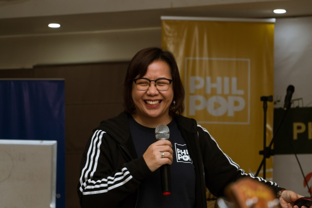 "Tina Dumlao, Author, ""Himig at Titik, A Tribute to OPM Songwriters"""